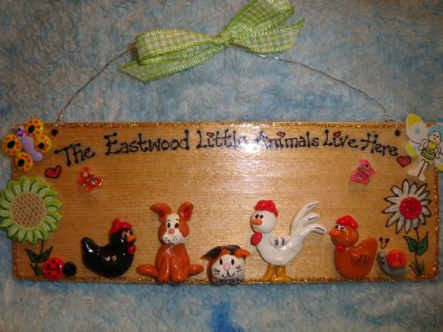 5 character 3d Animal Any Pet Sign Cat Dog Chicken Rabbit Guinea Pig ReptileSign Any Phrasing Personalised Plaque